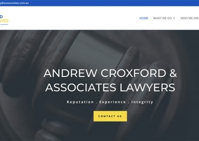 Andrew Croxford & Associates Lawyers